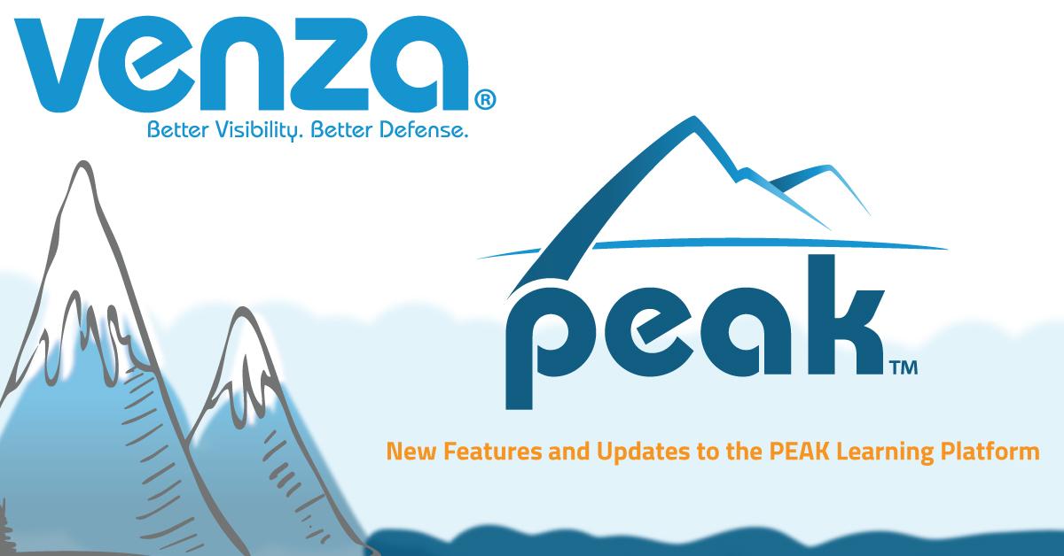 VENZA Peak Updates Graphic