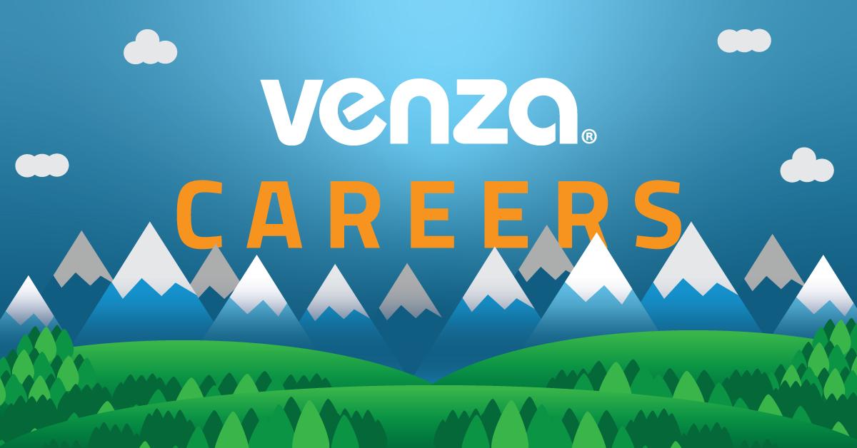 VENZA Careers Graphic