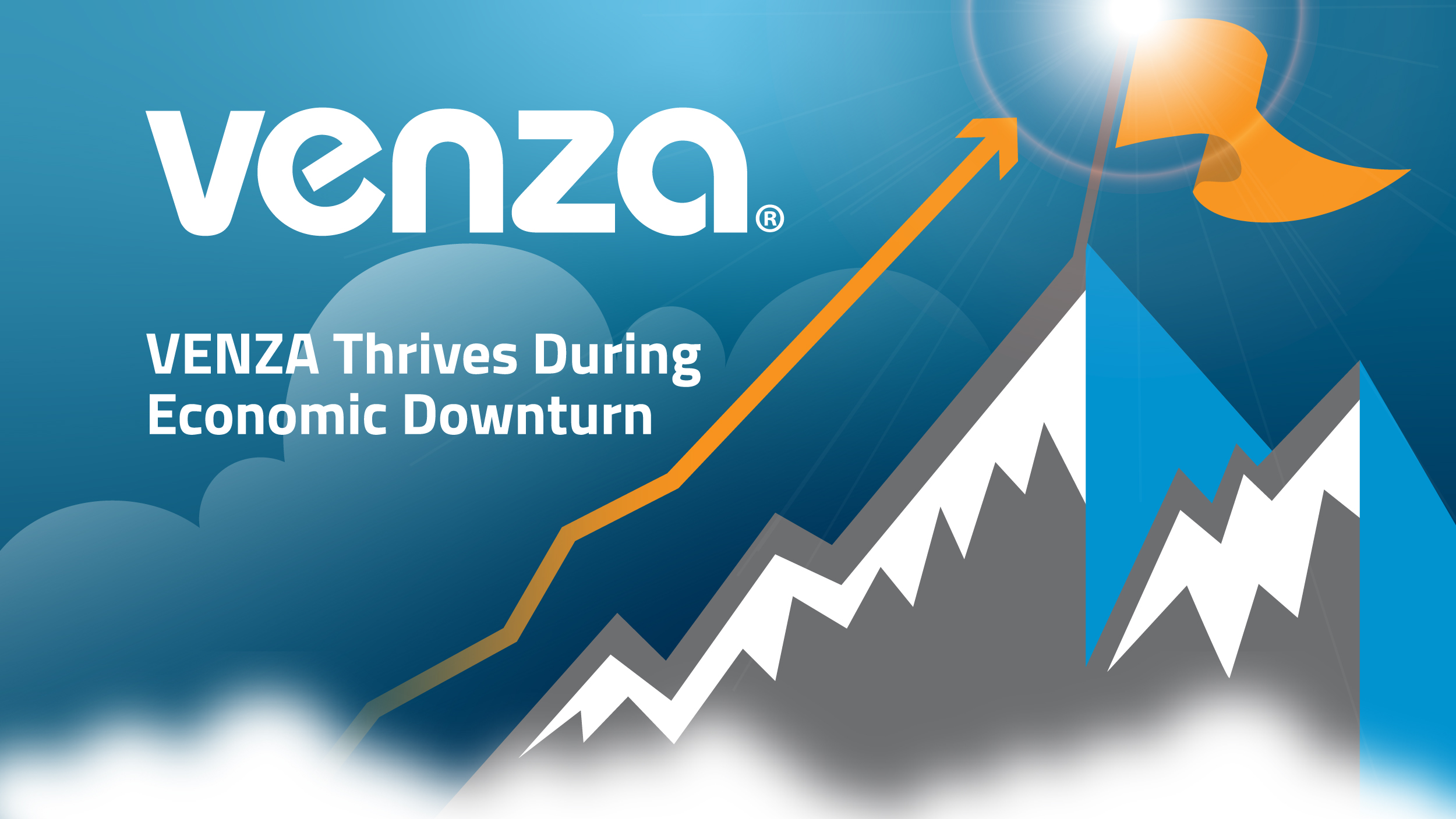 venza thrives during economic downturn graphic